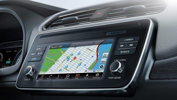 เทคโนโลยี Nissan Intelligent Mobility ™ จะทำให้คุณสามารถเข้าถึงทุกการเชื่อมต่อได้อย่างง่ายดายแค่เพียงปลายนิ้วสัมผัส