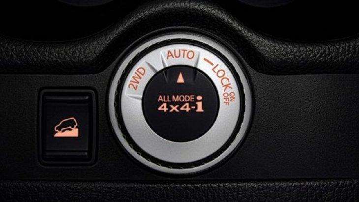 ระบบ ALL MODE 4X4-I ที่คุณสามารถเลือกได้ไม่ว่าจะเป็นระบบ 2WD เพื่อการขับขี่ที่ประหยัดน้ำมัน, ระบบ AUTO จะควบคุมกำลังของล้อหน้าและล้อหลังให้สัมพันธ์กัน เพื่อการยึดเกาะพื้นถนนที่ดีที่สุด และระบบ 4WD LOCK ตอบรับการขับขี่บนเส้นทางที่ท้าทาย