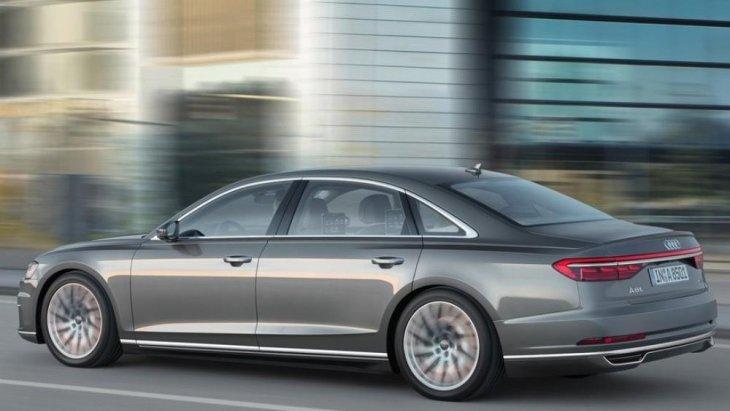 Audi A8 L 55 TFSI ถูกติดตั้งเครื่องยนต์เบนซิน Mild Hybrid แบบวี 6 เทอร์โบชาร์จ ความจุ 3.0 ลิตร ให้กำลังสูงสุด 340 แรงม้า ที่ 5,000 - 6,400 รอบต่อนาที แรงบิดสูงสุด 500 นิวตัน-เมตร ที่ 1,370 - 4,500 รอบต่อนาที ส่งกำลังด้วยเกียร์อัตโนมัติ 8 สปีด Tiptron