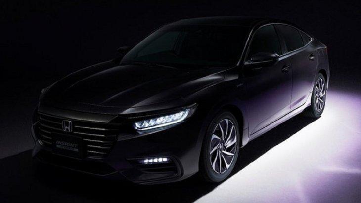 Honda Insight 2019 โฉมไมเนอร์เชนจ์ เผยให้เห็นดีไซน์กระจังหน้าโครเมียมแบบใหม่