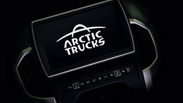 Isuzu D-Max Arctic Trucks AT35  ถูกควบคุมโดยการลดแรงบิดและการใช้เบรกโดยอัตโนมัติ
