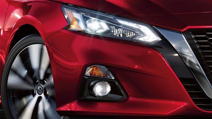 Nissan Altima 2019 สวยโดดเด่นด้วยไฟหน้าและไฟตัดหมอกแบบ LED