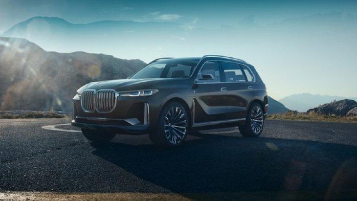 BMW X7 2019 ใหม่ ถูกปล่อยภาพทีเซอร์แรกอย่างเป็นทางการแล้ว