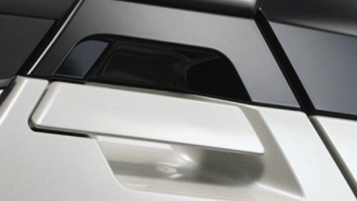 แผ่นฟิล์มกันรอยเบ้ามือจับประตูหลัง ฟิล์มผลิตจากวัสดุพอลิไวนิลคลอไรด์ (PVC) ด้วยความหนาที่ออกแบบมาเพื่อป้องกันริ้วรอยบริเวณเบ้าที่จับประตูโดยเฉพาะ  ราคา 350 บาท  ( 1 ชุด มี 2 ชิ้น)