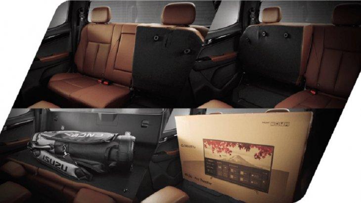 เบาะนั่งคนขับสามารถปรับด้วยระบบไฟฟ้า 6 ทิศทาง ส่วนเบาะหลังสามารถแยกปรับพับได้แบบ 60:40 เพื่อปรับเปลี่ยนเป็นพื้นที่วางสัมภาระได้มากขึ้น