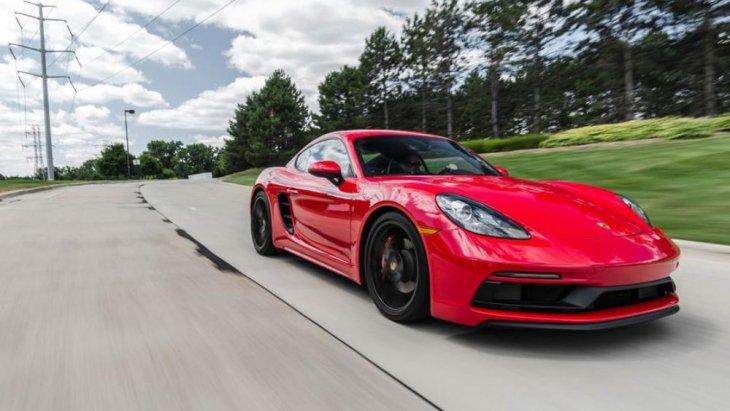 เส้นสายการออกแบบของ Porsche Cayman rival