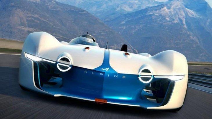 โดยรถแข่ง Vision Gran Turismo หยิบยืมสไตล์การออกแบบมาจากรถสปอร์ตในตำนานของ Alpine หลายโมเดล