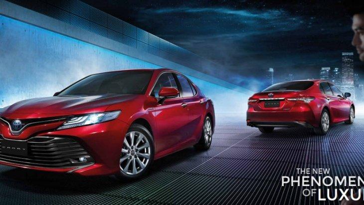All-new Toyota Camry 2019 พลิกโฉมใหม่สู่ความเป็นรถเก๋งซีดานสไตล์สปอร์ตระดับพรีเมียม