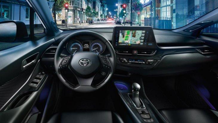ดีไซนืภายในของ All New Toyota CH-R 2018