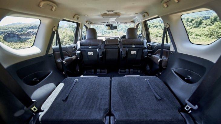 เบาะนั่งแถวที่ 2 สามารถปรับเลื่อนหน้า-หลัง, ปรับเอน และปรับพับแยกแบบ 60:40