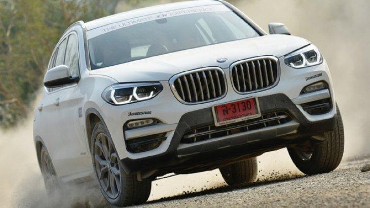 BMW X3 เป็นเอสยูวีอีกรุ่นที่ได้รับความนิยมในบ้านเราเช่นกัน
