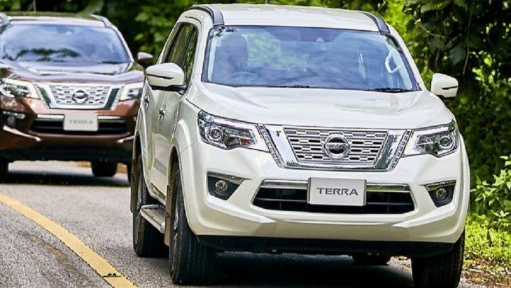 Nissan Terra 2019 เวอร์ชั่นไทยมีให้เลือกด้วยกันทั้งหมด 3 รุ่นย่อย  2.3 V 2WD 7AT 2.3 VL 2WD 7AT 2.3 VL 4WD 7AT