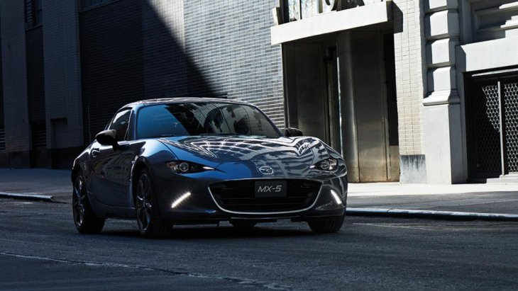 Mazda MX-5 MT คือรถยนต์ที่เป็น Brand icon ของมาสด้า