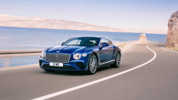 2019 Bentley Continental GT coupe เป็นการผสมผสานกับสิ่งที่นักขับรถชื่นชอบ