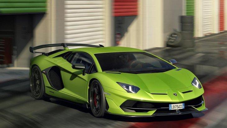 Lamborghini เผยภาพล่าสุดของ Avantador SVJ หรือ Superveloce Jota เพียงไม่กี่วันก่อนจะเปิดตัวอย่างเป็นทางการที่ Concours d'Elegance