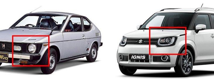 ALL NEW SUZUKI IGNIS สวยโดดเด่นด้วยไฟหน้าที่อยู่ในกระจังหน้า ซึ่งมาจากต้นแบบอย่าง Cervo รถสปอร์ตขนาดเล็กยุคแรกๆ