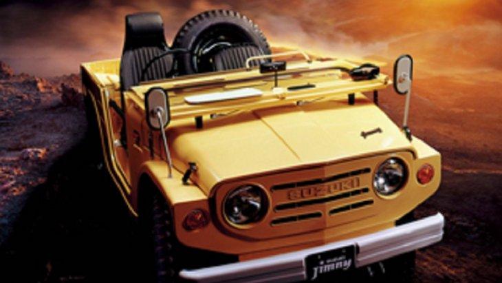 ปี 1970 รถ 4X4 รุ่นแรกของ SUZUKI ในประเทศญี่ปุ่น เริ่มต้นพัฒนาในปี 1968 และจำหน่ายในปี 1970