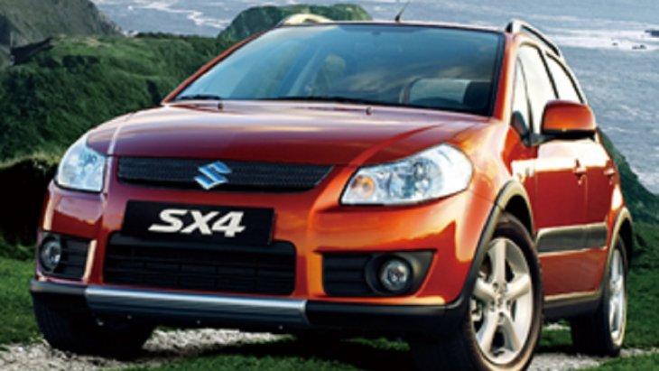 """ปี 2006  เปิดตัว SUZUKI SX4 พัฒนาภายใต้แนวคิด """"X-over revolution"""""""