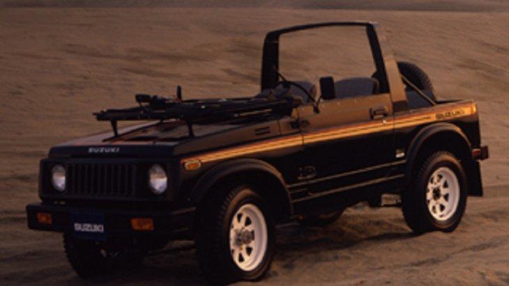 ปี 1981 SUZUKI SJ410 รถ 4X4 สไตล์ทันสมัย