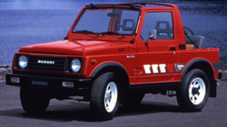ปี 1984  SUZUKI SJ413 รถ 4X4 เครื่องยนต์ 1.4 ลิตร กระบอกสูบขนาด 1.3 ลิตร  66 แรงม้า ระบบเกียร์ธรรมดา 5 สปีด