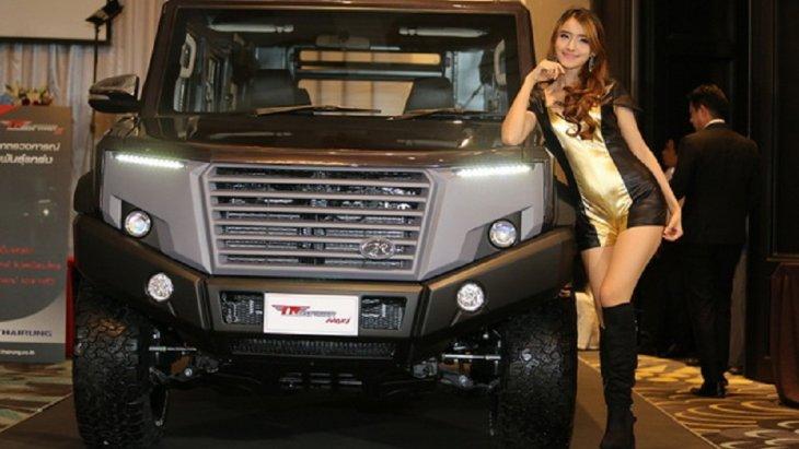 มี Concept ให้ TR TRANSFORMER II เป็นสัญญลักษณ์ของ Super Hero ของคนไทย