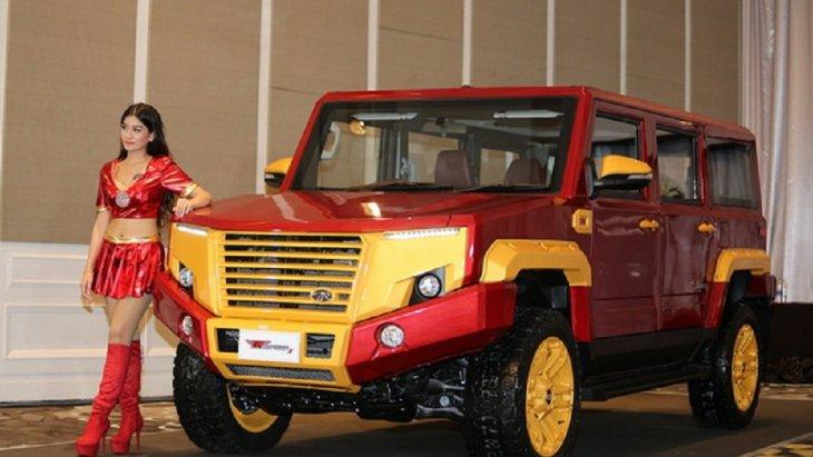 นำรูปแบบตัวแสดงของ Iron Man มาเป็นแรงบันดาลใจในการออกแบบให้รถมีความโดดเด่น