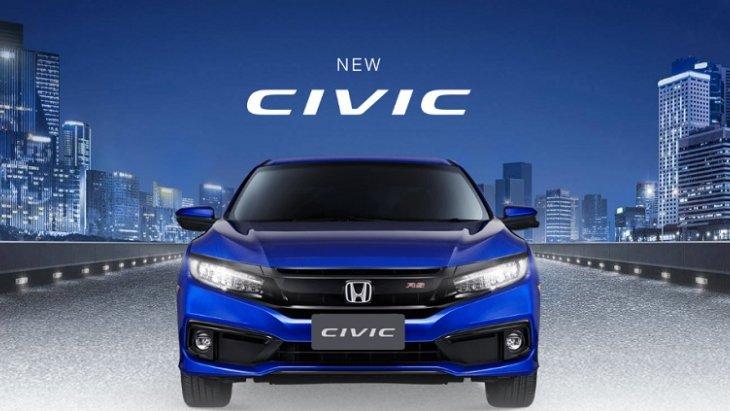 ราคา  Honda Civic 2019 New Minor Changes เริ่มต้นที่ 874,000 บาท