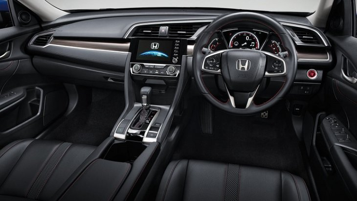 Honda Civic 2019 New Minor Changes มาพร้อมกับอุปกรณ์และเทคโนโลยีอำนวยความสะดวกที่ทันสมัยมากมาย