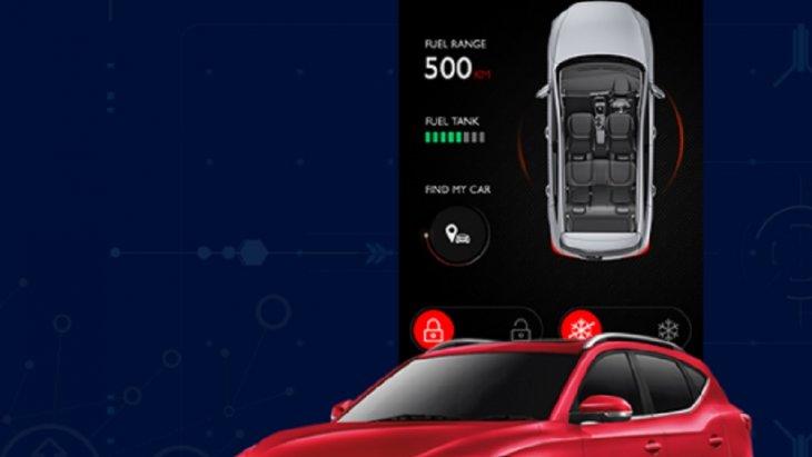 i – SMART ระบบปฏิบัติการอัจฉริยะจาก MG ที่ช่วยให้คุณสามารถสื่อสารกับรถยนต์ MG ผ่านสมาร์ทโฟนได้เสมือนเป็นหนึ่งเดียวกัน ซึ่ง i – SMART สามารถใช้ได้ทั้งระบบ Android และ iOS