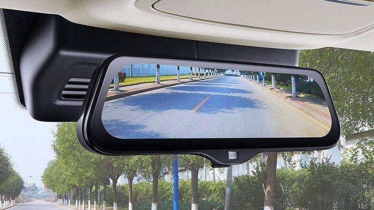 กระจกมองหลังยัง Stream ภาพจากกล้องท้ายรถเพื่อให้มุมมองไกลและชัดเจนขึ้น