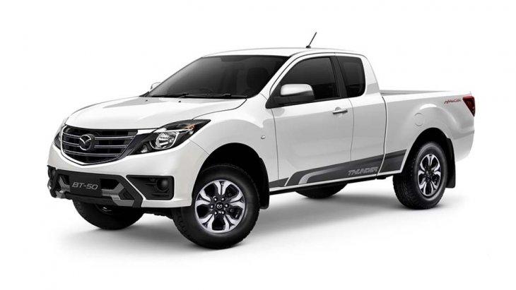 รูปลักษณ์ของ Mazda New BT-50 Pro Thunder มาพร้อมกับดีไซน์ใหม่ เปลี่ยนตั้งแต่กันชนหน้า,กระจังหน้าแบบใหม่หมดจด