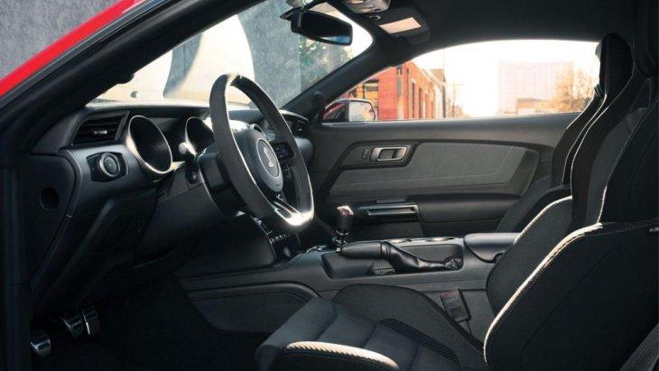 ดีเทลของการออกแบบ Ford Mustang GT350  2018