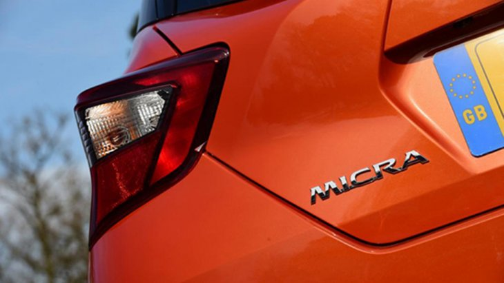 โลโก้ MICRA ท้ายรถยนต์