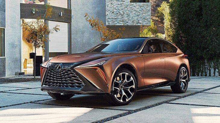 Lexus LF-1 Limitless Concept รถครอสโอเวอร์แนวคิดระดับ Flagship ของตนเอง (เปิดตัวครั้งแรกที่งานดีทรอยต์ ออโต้ โชว์ 2018) ไปอวดความเป็น Art Piece ของ Lexus