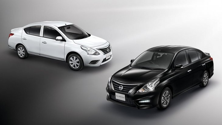ราคา Nissan Almera 2018-2019  เริ่มต้นที่ 445,000 บาท