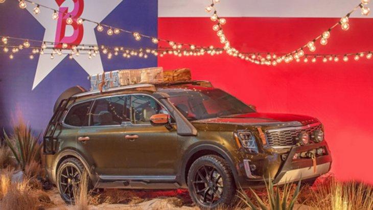 KIA Telluride ในแบบชุดแต่งสำหรับขาลุย ที่งาน American International Auto Show 2018