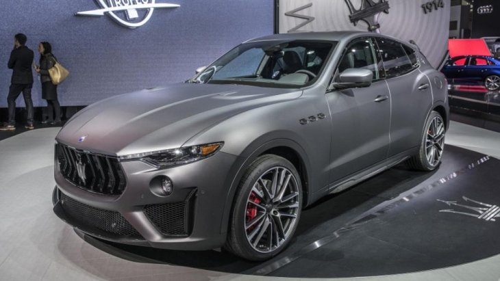 2019 Maserati Levante Trofeo โฉมใหม่ ที่ได้รับการพัฒนาให้เป็น SUV ที่ดีที่สุดแห่งปี 2019
