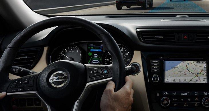 NISSAN ROGUE 2019 พร้อมออกผจญภัยไปกับคุณด้วยเทคโนโลยีการขับขี่แบบไดนามิก Nissan Intelligent Mobility Rogue  ระบบช่วยเหลือผู้ขับขี่ขั้นสูง และหน้าจอแสดงผลระบบสัมผัสขนาด 7 นิ้ว