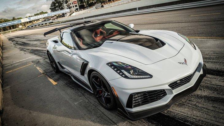"Corvette Model 2019 คันนี้มาในขุมพลังเครื่องยนต์ขนาดกลาง ""mid-engine Corvette C8"""