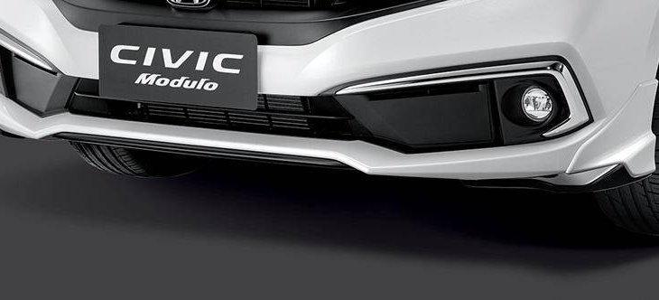 Honda Civic 2019 โฉมไมเนอร์เชนจ์เผยชุดแต่ง Modulo รอบคัน พร้อมวางจำหน่ายจริง