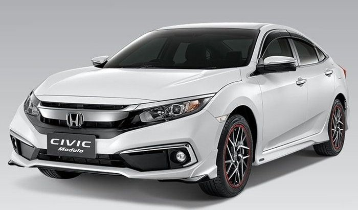 Honda Civic 2019 ไมเนอร์เชนจ์เผยชุดแต่ง Modulo รอบคัน