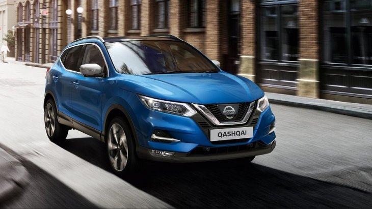 Nissan Qashqai   ยอดจดทะเบียนรวม 34,910 คัน และถือเป็นรถยนต์ SUV ที่มีการขยายตัวมากในตลาดรถยนต์ SUV ฝั่งยุโรป
