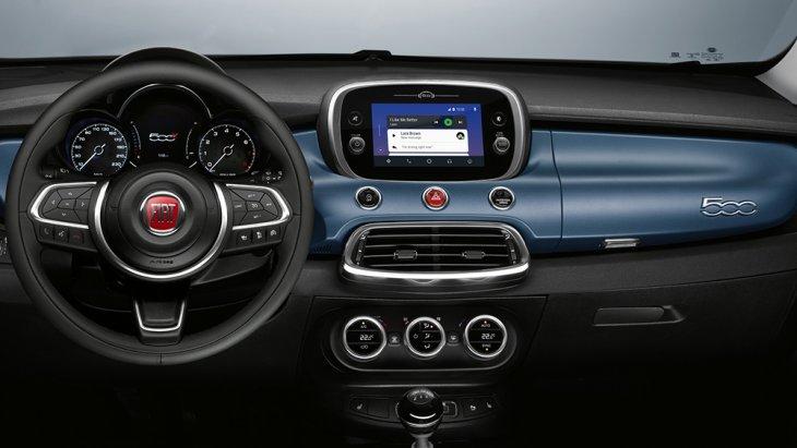 หน้าจอขนาดทั้งสิ้น 7 นิ้ว พร้อมการเชื่อมต่อแบบ Uconnect HD infotainment system และการเชื่อมต่อโทรศัพท์ภายในแบบ Apple CarPlay และ Android Auto