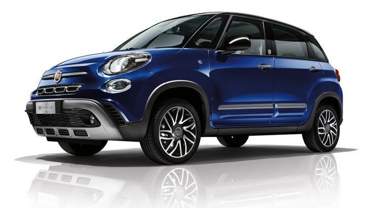"""รถแบบรุ่นพิเศษอย่าง """"Mirror edition Model"""" นั้นจะมาพร้อมกับการเปิดตัวในรถอย่าง """"Fiat 500X Cross Model"""""""