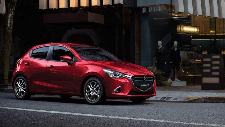 "Mazda New Mazda 2 ""HATCHBACK EXCITEMENT NEVER ENDS เร้าใจ ไม่เคยหยุด"" ราคารถยนต์มือสองปี 2018 สูงสุด  620,000 บาท"