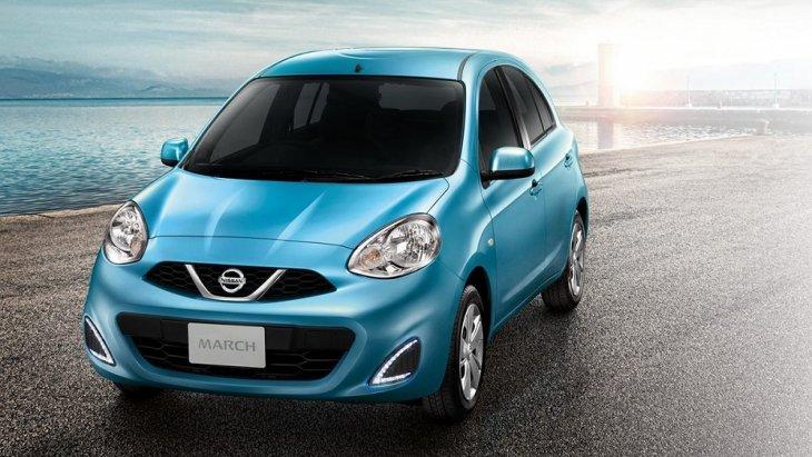 Nissan March 2018 รถยนต์อีโคคาร์ขนาดเล็ก ที่มีรูปทรงภายนอกโค้งมนเป็นเอกลักษณ์เฉพาะตัว ใส่ความเป็นสไตล์สปอร์ตเล็กๆ ลงไปอย่างลงตัว ให้อัตราเร่งดีเยี่ยม ราคา NISSAN MARCH 2018 เริ่มต้นที่ 420,000 บาท