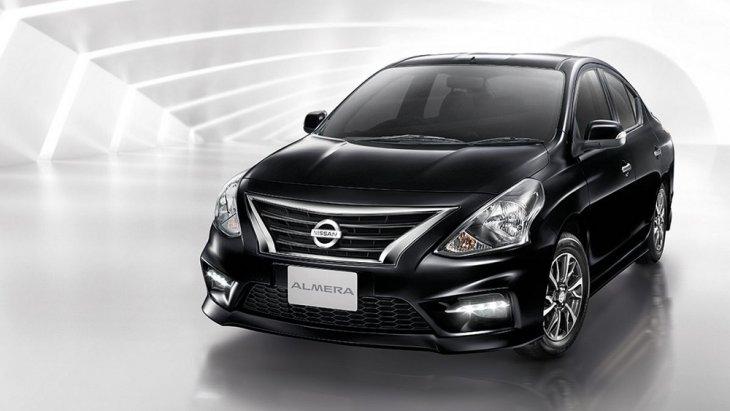 Nissan Almera 2018 รถยนต์อีโคคาร์ 4 ประตู ดีไซน์สุดหรูหราระดับพรีเมียม ผสมผสานสไตล์สปอร์ต ที่ดูโฉบเฉี่ยว สะกดทุกสายตาในทุกมุมมอง ตอบโจทย์วิถีชีวิตคนเมืองได้อย่างลงตัวด้วยตัวรถที่มีขนาดเล็กกะทัดรัด ราคา Nissan Almera 2018 เริ่มต้นที่  445,000 บาท