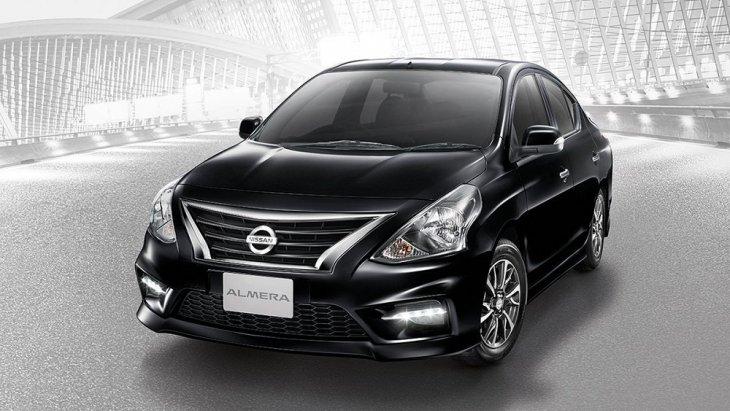 """Nissan Almera """"ตอบสนองวิถีชีวิตคนเมือง โดดเด่นในความเป็นสปอร์ต"""" ราคารถยนต์มือสองปี 2018 สูงสุด  589,000 บาท"""
