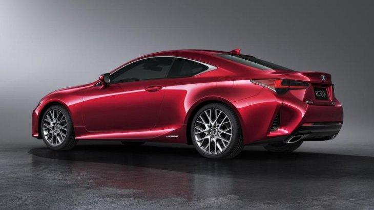 เส้นสายของ Lexus RC 2019 จะผสานความสปอร์ตและแข็งแกร่งเอาไว้อย่างดุดัน