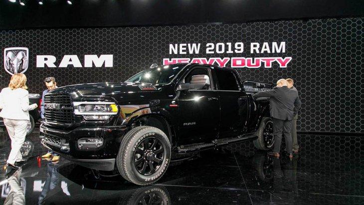 Ram Heavy Duty 2019 รุ่นใหม่ล่าสุดในงาน North American International Auto Show 2019  (NAIAS Detroit Auto show 2019)